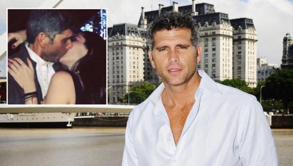 El actor y su compañera Ariadne Díaz se dieron un apasionado beso. (USI/Difusión)