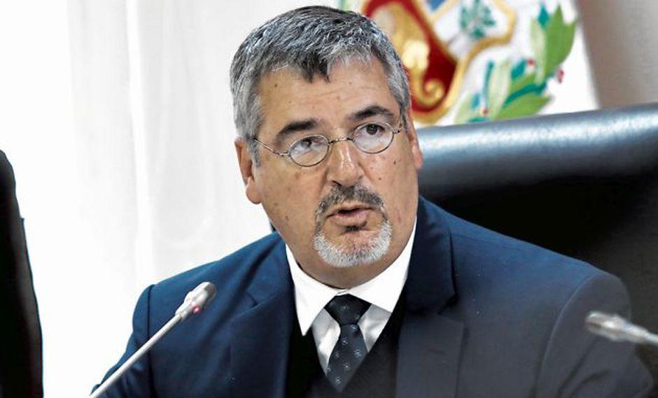 Ministro de Cultura aseguró que la población de Espinar está a favor del proyecto. (GEC)