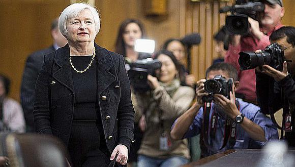 Janet Yellen se presentó ante la Comisión de Banca del Senado de EEUU. (Reuters)