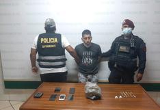 Callao: 'Marc Anthony' cayó con una granada de guerra y harta droga que escondía en diferentes ambientes de su casa