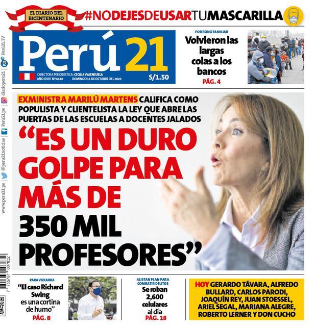 """""""Es un duro golpe para más de 350 mil profesores""""."""