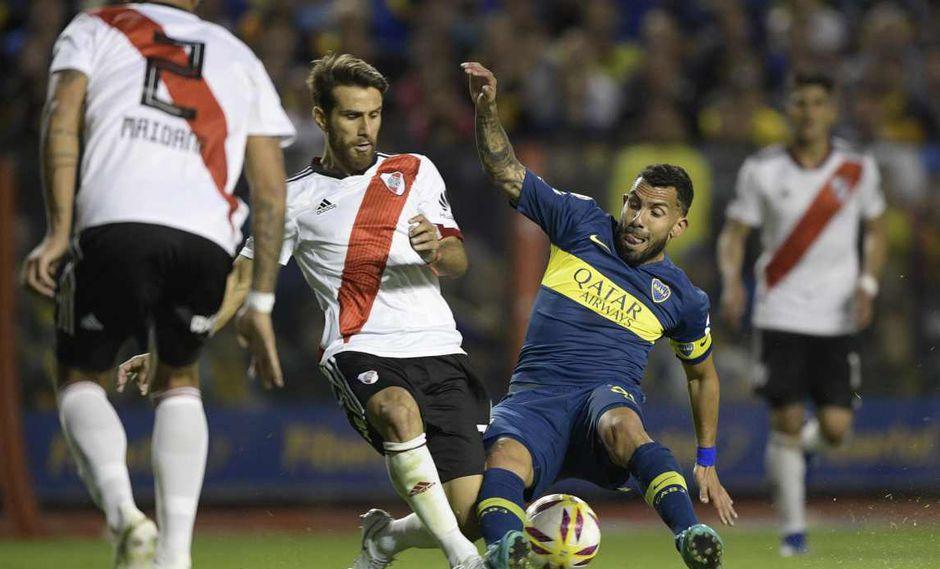 El simulacro de sorteo en la Copa Libertadores 2019 dejó un Boca-River. (Foto: AFP)