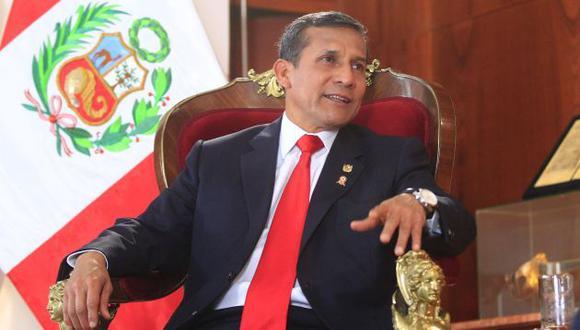 Ollanta Humala se mantiene en silencio desde que dejó el poder. (Difusión)