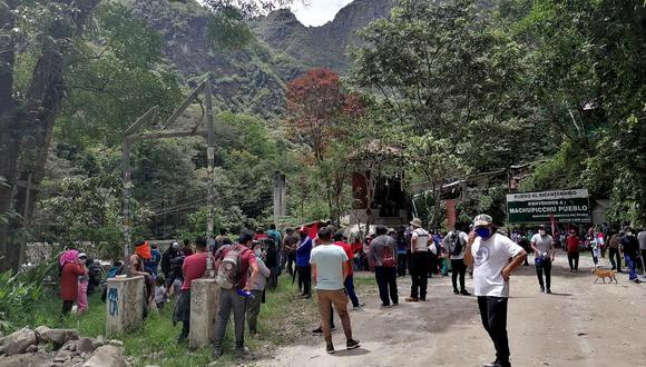 Cusco: puertas del Santuario Histórico de Machu Picchu permanecerán cerradas (Foto: Juan Sequeiros)