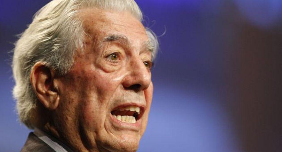 EN EL BLANCO. Vargas Llosa deja en claro que destaca la figura de Nadine, pero también pone límites. (Luis Gonzáles)