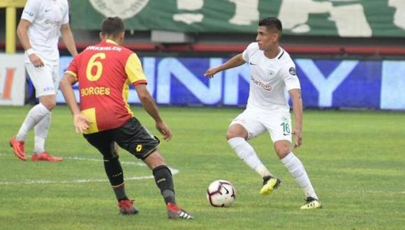 Paolo Hurtado firmó contrato con Konyaspor por tres temporadas. (Foto: Konyaspor)