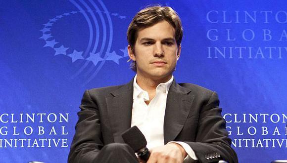 Tras ser acusado de plagio, Ashton Kutcher decidió eliminar lo publicado. (Bloomberg)