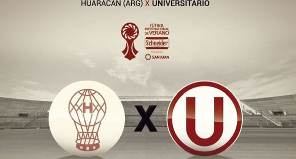 Universitario de Deportes se medirá con Huracán en San Juan. (Foto: Universitario de Deportes)
