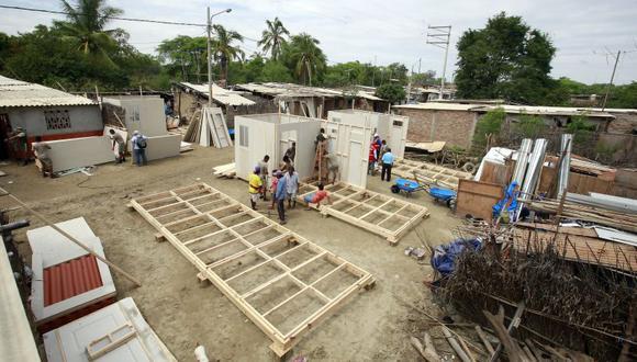 Los módulos enviados a Tacna serán entregados a las familias de la localidad de Mirave afectadas por las lluvias y huaicos. (Foto: Ministerio de Vivienda)