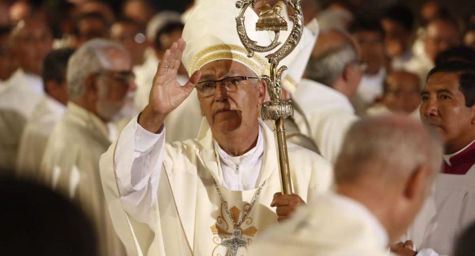 Carlos Castillo Mattasoglio, de 69 años, juró como nuevo Arzobispo de Lima. (Foto: GEC/Cesar Campos)