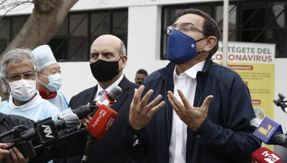 El presidente Martín Vizcarra será investigado por hechos durante su gestión como gobernador de Moquegua. (GEC)
