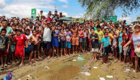Lluvias en Piura han dejado infraestructura agrícola devastada. (Foto: Presidencia)