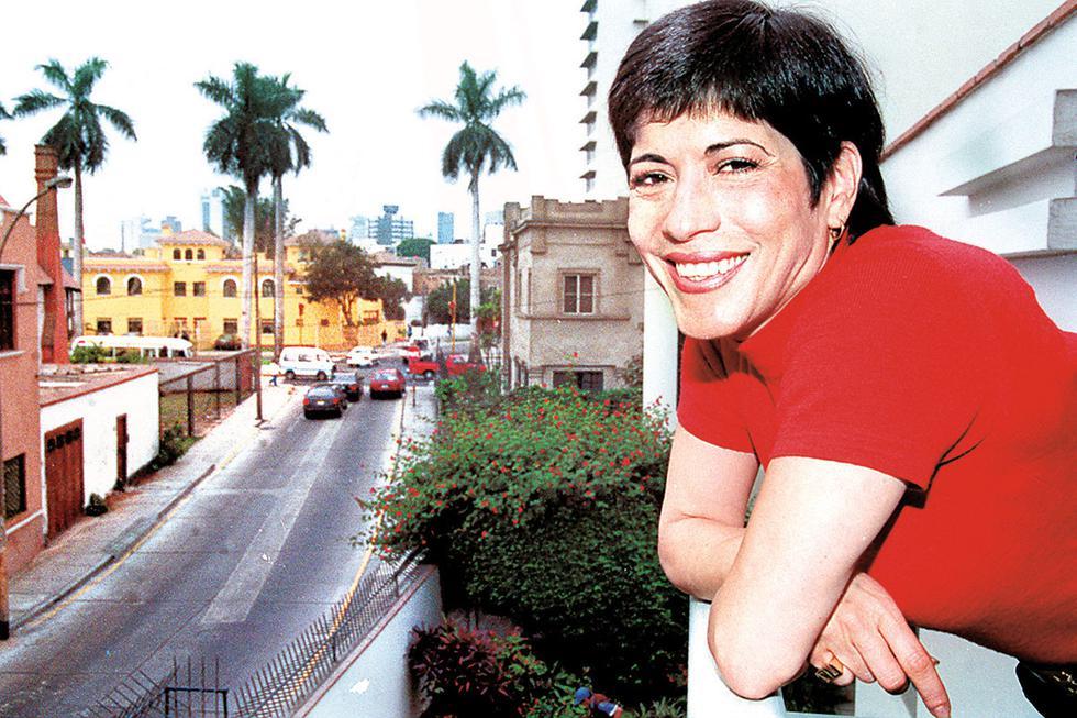 Cecilia Barraza es una de las más reconocidas exponentes de nuestro criollismo. 07 de junio de 2001 (Foto: GEC Archivo)