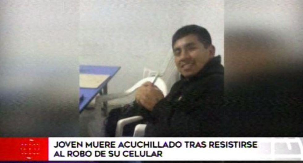 La familia señaló que Francisco Quitza estudiaba reparación de celulares y tenía pensado que el otro año viajar a Italia para reencontrarse con su familia. (Video: América TV)