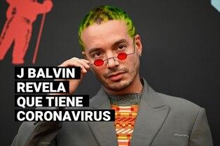 J Balvin confesó que tiene coronavirus durante la transmisión de los Premios Juventud 2020