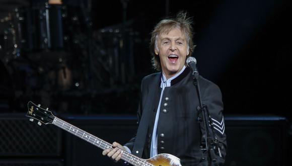"""Subastan por USD 910.000 el manuscrito de """"Hey Jude"""" de Paul McCartney. (Foto: AFP)"""