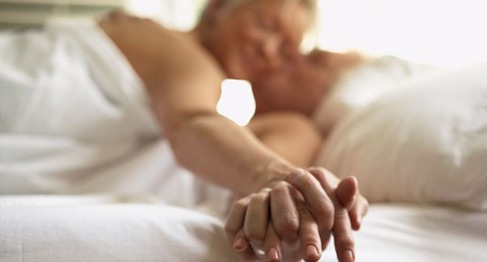 El deseo sexual en la tercera edad. (Getty Images)