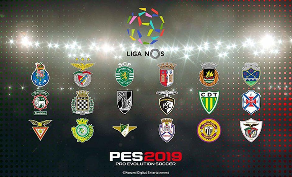 Se ha confirmado la presencia de la liga portuguesa para PES 2019.