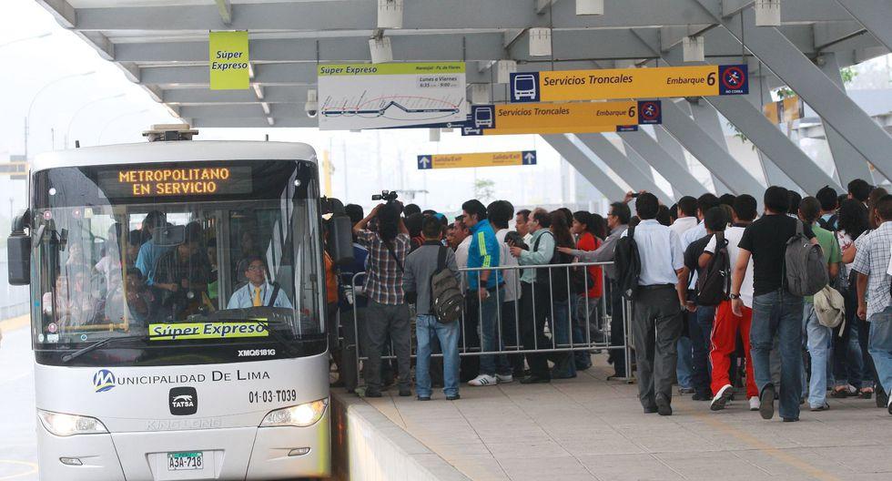 El municipio capitalino llevará sus controversias con los operadores ante un Tribunal Arbitral. (Foto: Andina)