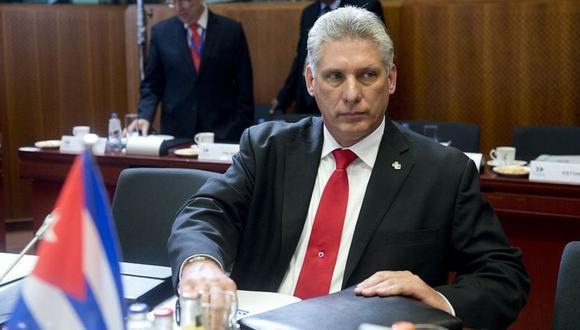 Imagen del presidente cubano Miguel Díaz-Canel. (Foto: Getty Images).