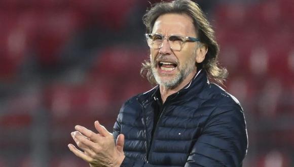 La selección peruana tiene solo un punto en las Eliminatorias Qatar 2022. (Foto: AFP)