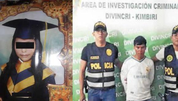 Ayacucho. Javier Córdova cuando fue detenido por la Policía en diciembre de 2018. (GEC)