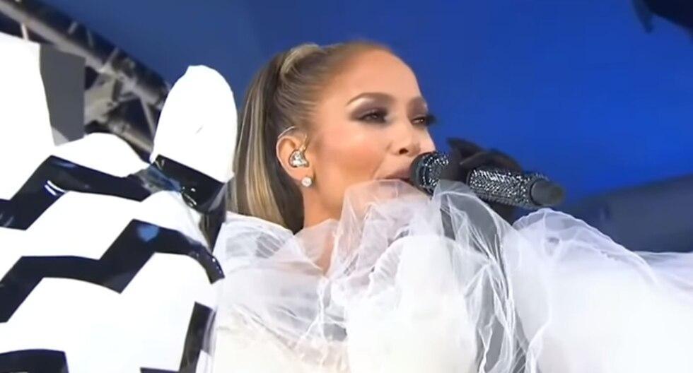 La cantante de 49 años hizo una gran presentación en vivo de su tema 'Medicine' en Today Show. (Foto: Captura de pantalla)
