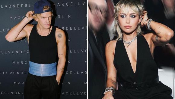 Miley Cyrus y Cody Simpson mantuvieron su romance por diez meses y llegaron a convivir en Los Ángeles. (Instagram: @mileycyrus / @codysimpson).