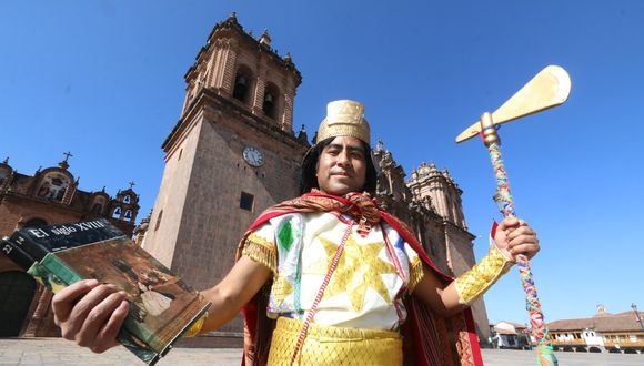 Juan Quispe, historiador y profesor cusqueño. (Foto: Juan Sequeiros).