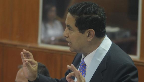 Juan José Díaz Dios se enfrenta a abogado de Alberto Fujimori. (Mario Zapata)