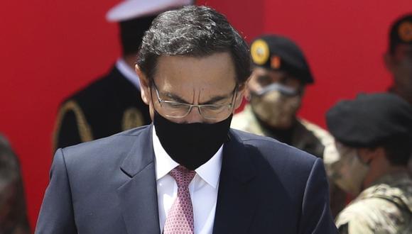 Martín Vizcarra no acudió al Congreso para ejercer su defensa por el caso Vacunagate. (Foto: Britanie Arroyo)