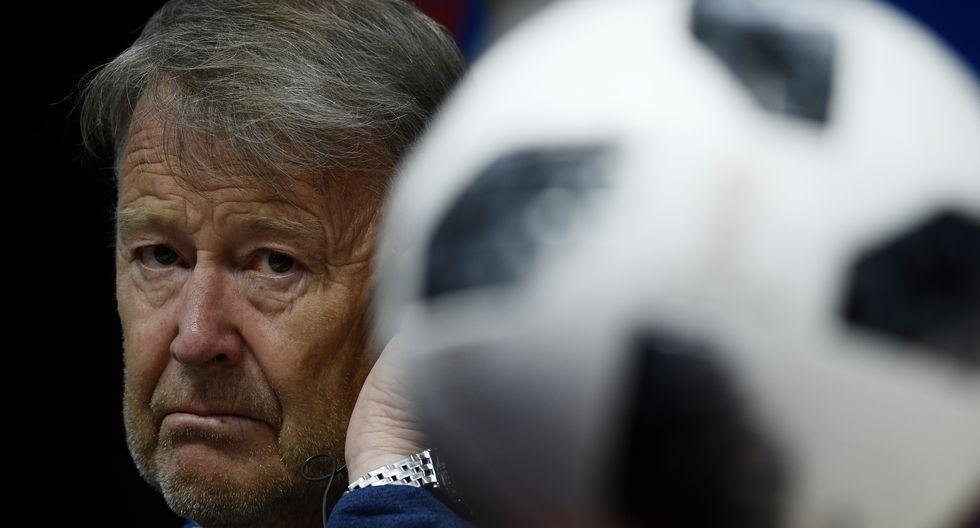 DT de Dinamarca admitió que la 'Blanquirroja' mereció más que la derrota. (AFP)