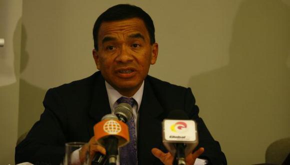 El dirigente también habló de la sanción que le impuso la Comisión de Justicia de la  ADFP. (USI)