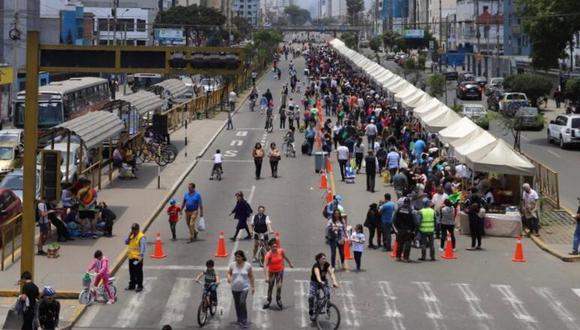 Los ciudadanos podrán realizar actividades recreativas nuevamente en la avenida Brasil. (Foto: Municipalidad de Magdalena)