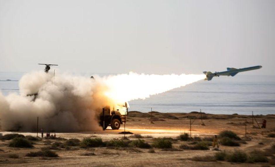 SUBE LA TENSIÓN. Irán lanzó más misiles en el Golfo Pérsico ante la preocupación de Occidente. (Reuters)