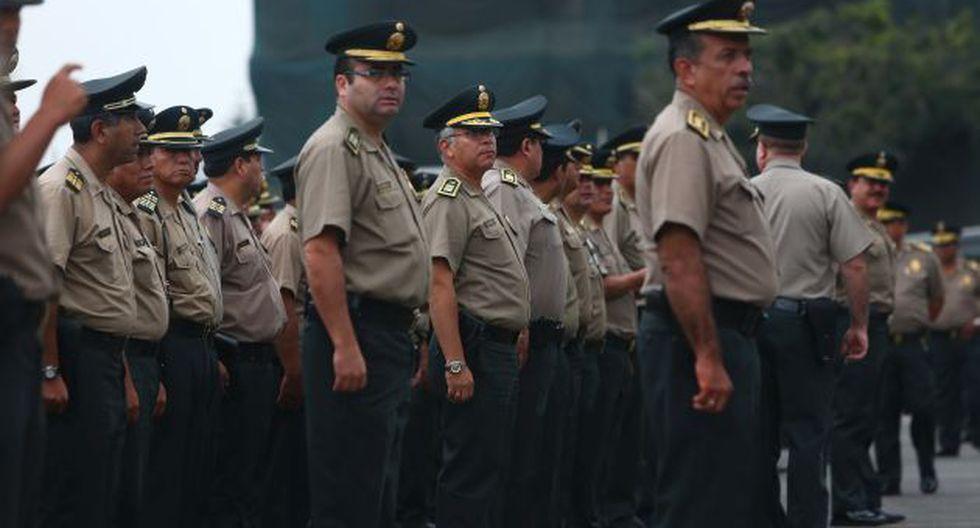 Demandan más policías en las calles para garantizar la seguridad de los ciudadanos. (Rafael Cornejo)