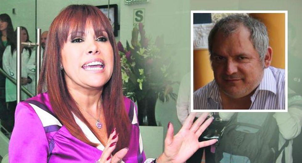 Magaly critica a Álamo Pérez-Luna. (USI)