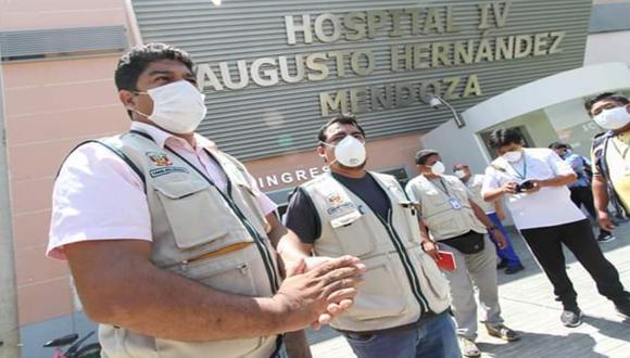Ica: Gobernador regional, Javier Gallegos, anuncia que llegarán 1400 pruebas rápidas.