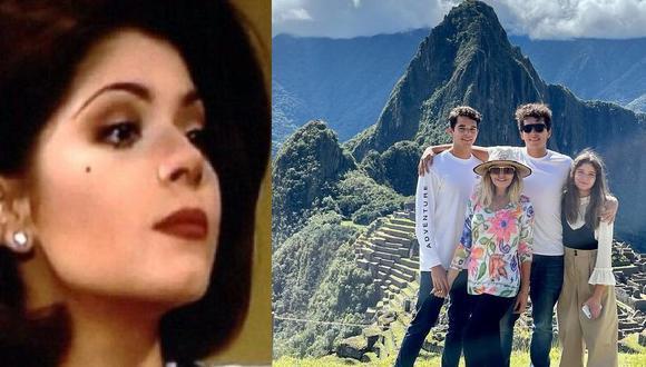 La también cantante quedó maravillada con Machu Picchu, una de las obras maestra de la arquitectura y la ingeniería inca. (Foto: Televisa / Instagram: @itatic_oficial)