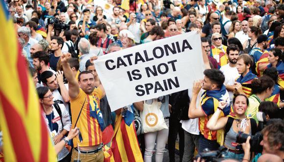 Cataluña protesta. (USI)