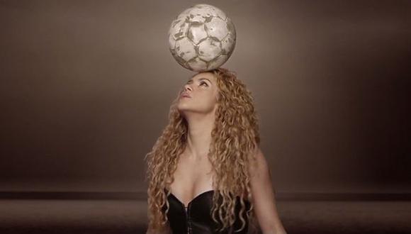 Shakira, Santana y una escuela de samba se presentarán en el cierre del Mundial(Captura Youtube)