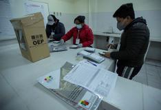 Bolivia: lento conteo oficial va confirmando triunfo de Luis Arce