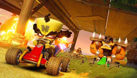 Crash Team Racing: Nitro-Fueled llegará el próximo 21 de junio a PS4, Xbox One, Nintendo Switch y PC.