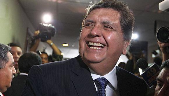 Alan García volvió  a mostrar reflejos políticos al marcar distancia de un tema impopular. (EFE)