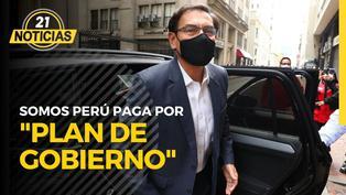 """Martín Vizcarra: Somos Perú paga por """"Plan de Gobierno"""""""
