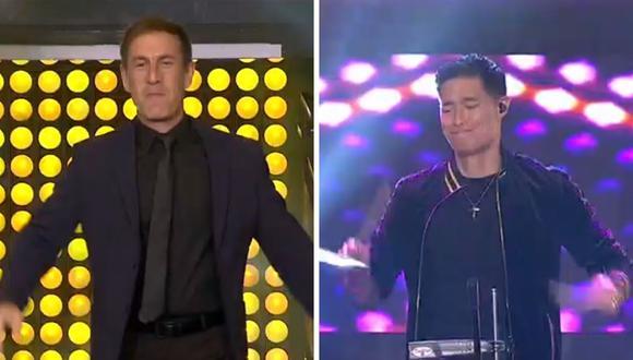 """""""Yo soy"""" inicia con Tony Succar y Mauri Stern como jurados. (Foto: Captura Latina)."""