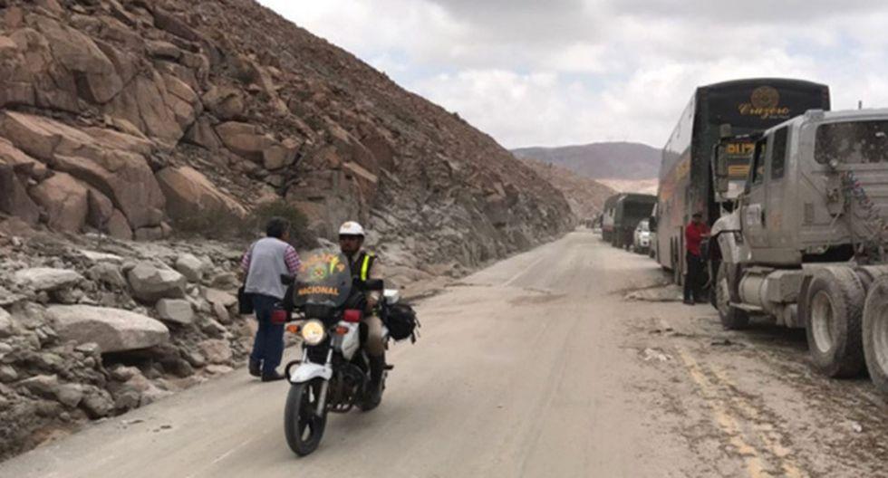 Coen: Tres tramos viales continúan restringidos en Ayacucho debido a intensas lluvias (Andina)