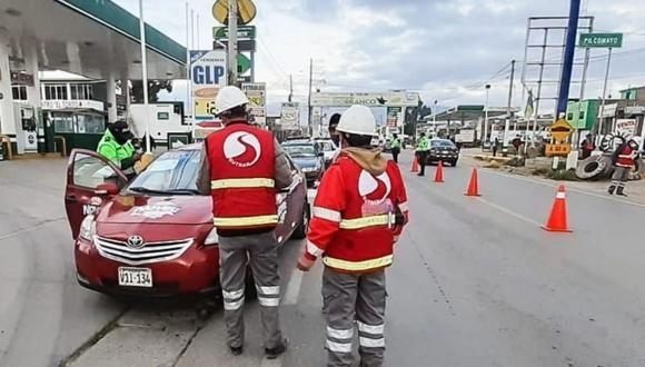 Las multas aplicadas equivalen a 4,300 soles que corresponde a la infracción F1 del Reglamento Nacional de Administración de Transporte.