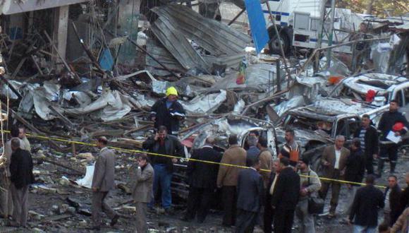 Diez explosiones en Bagdad. (AP)