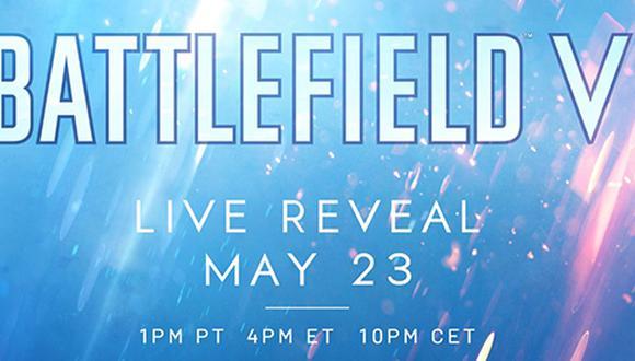 El próximo 23 de mayo sabremos los primeros detalles de Battlefield V.